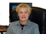 Sue Pierson, Chair of CoC Akron and Director of InfoLine